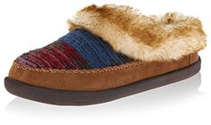 Woolrich Women's Dove Creek Slipper, Water, 7 M US >>> To view further for this item, visit the image link.
