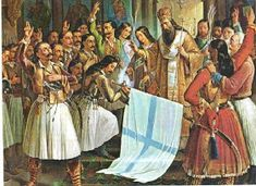 ΧΡΗΣΤΟΣ ΜΠΛΕΤΣΑΣ: ΘΕΑΤΡΙΚΟ ΓΙΑ ΤΗΝ ΕΛΛΗΝΙΚΗ ΕΠΑΝΑΣΤΑΣΗ ΤΟΥ 1821: ΟΙ ΗΡΩΕΣ ΜΑΣ ΠΑΝΕ ΣΤΟΝ ΠΑΡΑΔΕΙΣΟ