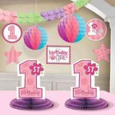 If you're planning a baby girl's first bithday party, find great ideas for a girl first birthday themes here. Your baby girl's first birthday...