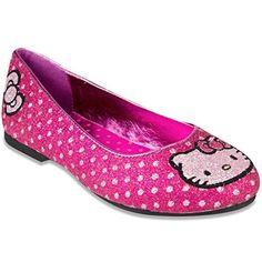 b924a63422691 Hello Kitty Tania Ballet Flat (Little Kid)