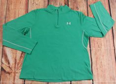 Under Armour Green Fleece Pullover Junior Womens Size Large | Clothing, Shoes & Accessories, Women's Clothing, Sweats & Hoodies | eBay!