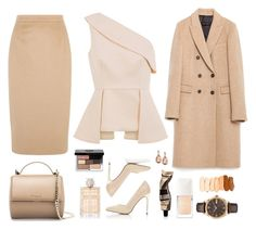 """""""Untitled #988"""" by ashtagery ❤ liked on Polyvore featuring moda, C/MEO COLLECTIVE, Givenchy, Bobbi Brown Cosmetics, Burberry, Miss Selfridge, Jaeger, Zara, Aesop e Christian Dior"""
