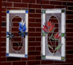Texas Bluebonnets And Indian Paint Brush - Delphi Stained Glass Stained Glass Flowers, Stained Glass Lamps, Stained Glass Designs, Stained Glass Panels, Stained Glass Projects, Leaded Glass, Stained Glass Patterns, Beveled Glass, Mosaic Glass