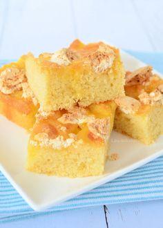 Lemon meringue plaatcake - Laura's Bakery