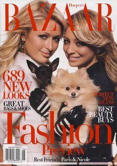 Bazaar June 2007 - Paris Hilton & Nicole Richie