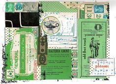 st. patrick's collage inspiration!