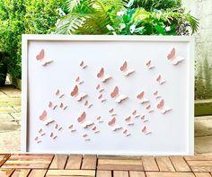 3d Wall Art, Wall Art Sets, Nursery Wall Art, Framed Wall Art, Wall Art Decor, Butterfly Wall Art, Paper Butterflies, Freedom Artwork, Girls Room Wall Decor