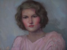 Zelda Fitzgerald painting.  You can see the hawk eyes that Hemingway describes in MOVEABLE FEAST.