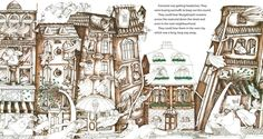 "Drahos Zak illustration for ""Murgatroyd's Garden"" by Judy Zavos"