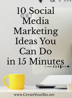 Social Media Tips & Marketing