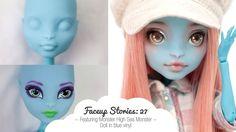 Faceup Stories: 27 Monster High Sea Monster