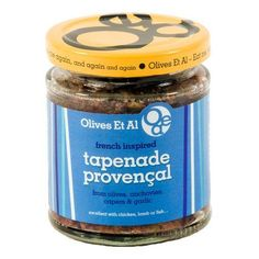 Rich and powerful mix of olives, capers, garlic, anchovies, extra virgin olive oil and spices!