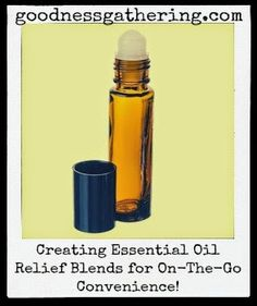 Creating Essential Oil Blends for on-the-go Convenience!  #essentialoils #youngliving