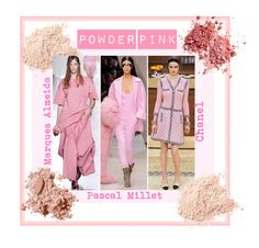 """""""Autumn/Winter 2015 Trend; Powder Pink"""" by kimearls on Polyvore featuring Bobbi Brown Cosmetics"""