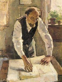 Anton Lutz - The painter Egge