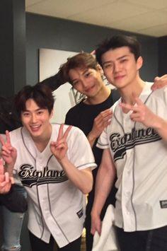 Exo Suho, Kai, Sehun
