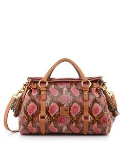 Satchel Bag - Pink/ CAN NEVER GO WRONG WITH A DOONEY...