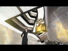Zaha Hadid's MAXXI appears in the latest Chanel No.5 TV ad.