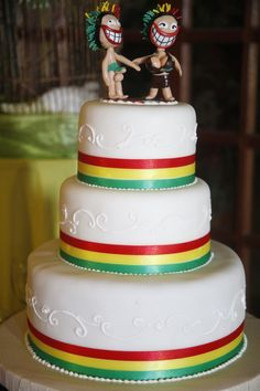 Rasta Wedding Cake