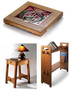 Free Arts and Crafts Style Furniture Project Plans: Classic Designs from Popular Woodworking Magazine
