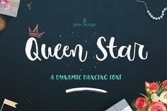 Queen Star  by JROH Creative on @creativemarket