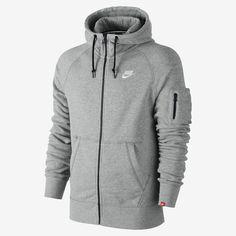 best service 65f92 d9eb9 Nike AW77 Intentional Men s Full-Zip Hoodie. Nike Store IE Nike Men Fashion,
