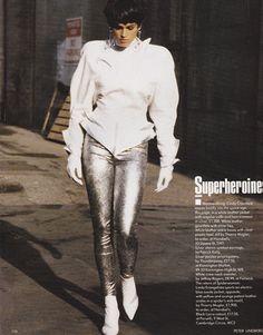 (Peter Lindbergh) для Vogue UK 1989