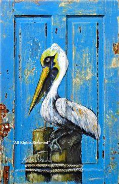 Martin Welch, Pelican painted door