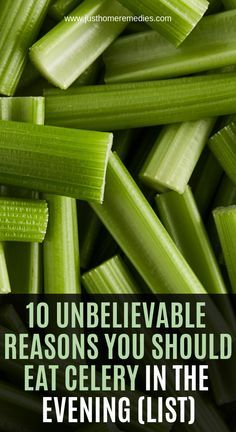 This crunchy vegetable abounds in many benefits important for the overall health of your body For culinary use celery is usually found in soups and salads while it can be eaten in a raw state, as a snack 1 Relieves Inflammation Due to the high lev - h Natural Health Remedies, Natural Cures, Herbal Remedies, Health And Wellness, Health Fitness, Health Diet, Nutrition Diet, Holistic Wellness, Health Tips