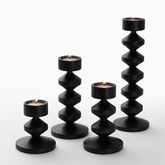 Tower Candle Holders | Wooden Candle Holders | Simply Tabletop UK