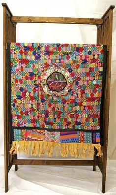 Culture club: guatamalan patchwork quilt- presentation possibility.