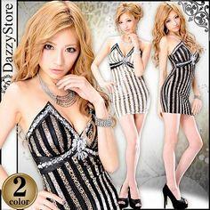 ヒョウ柄ラメストライプタイトミニドレス Bodycon Dress, Mini, Dresses, Fashion, Vestidos, Moda, Body Con, Fasion, Dress