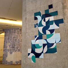 Arte em azulejo do Coletivo MUDA