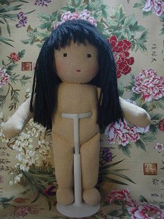 Making a Waldorf Doll - step by step instructions:  http://www.flickr.com/photos/29184580@N04/sets/72157617798912890/with/3508155027/