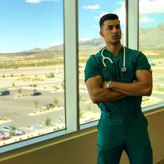 They may even make you fake your illness just to visit their clinics. Hot Doctor, Male Doctor, Doctor Costume, Nurse Costume, Beautiful Men Faces, Gorgeous Men, Cute Nursing Scrubs, Nurse Aesthetic, Male Nurse