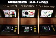 MegaNews kiosk