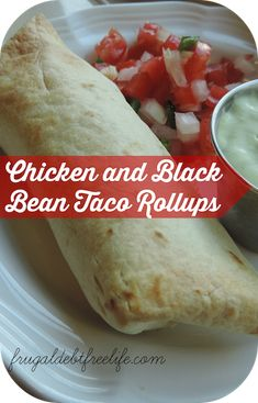 These Taco RollUps taste just like Chili's southwest egg rolls.