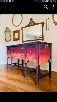 "Figure out additional details on ""shabby chic furniture ideas"". - Figure out additional details on ""shabby chic furniture ideas"". Take a look at our site. Funky Painted Furniture, Distressed Furniture, Refurbished Furniture, Paint Furniture, Upcycled Furniture, Furniture Makeover, Vintage Furniture, Shabby Chic Furniture Painting Ideas, Colorful Furniture"