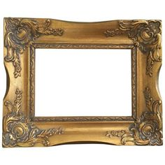 Vintage French Baroque Gold Frame ($79) ❤ liked on Polyvore featuring home, home decor, frames, picture frames, gold home decor, gold picture frames, colored picture frames, painted picture frames and gold home accessories