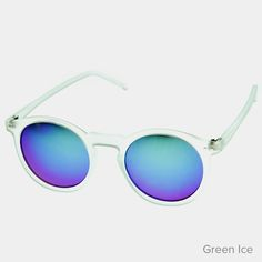 P3 Round Mirror Sunglasses