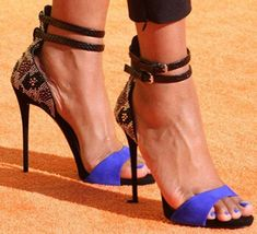 Snakeskin Heeled Ankle Strap Sandals