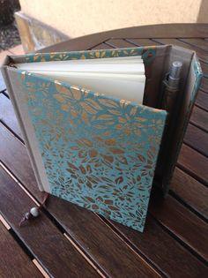 Journal Design, Notebook Design, Book Crafts, Paper Crafts, Diy Crafts, Homemade Books, Book Creator, Binder Covers, Diy Box