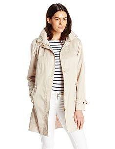 Calvin Klein Women's Long Packable Anorak Jacket  #Jacket