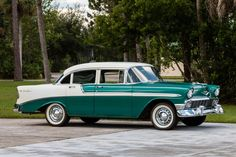 1956 Chevrolet Bel Air 4-Door Sedan