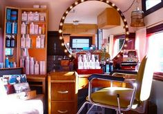 Vintage Trailer hair salon!