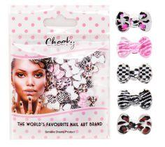 50 Décos Nail Art 3D Noeuds Papillon - Assortiment Dessins & Strass Manucure Pierres Décorations par Cheeky®: Amazon.fr: Parfum et Beauté