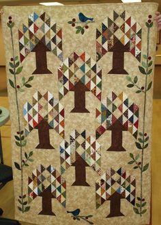 a beautiful quilt using Edyta Sitar pattern