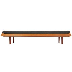 minimalist daybed by Ib Kofod Larsen | From a unique collection of antique and modern day beds at https://www.1stdibs.com/furniture/seating/day-beds/