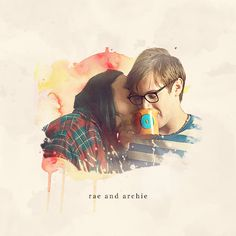 Rae & Archie. I love their friendship! My Mad Fat Diary