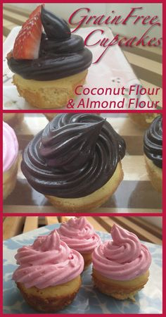 Almond/Coconut Flour Cupcakes (gluten and grain free). only if i have to!!